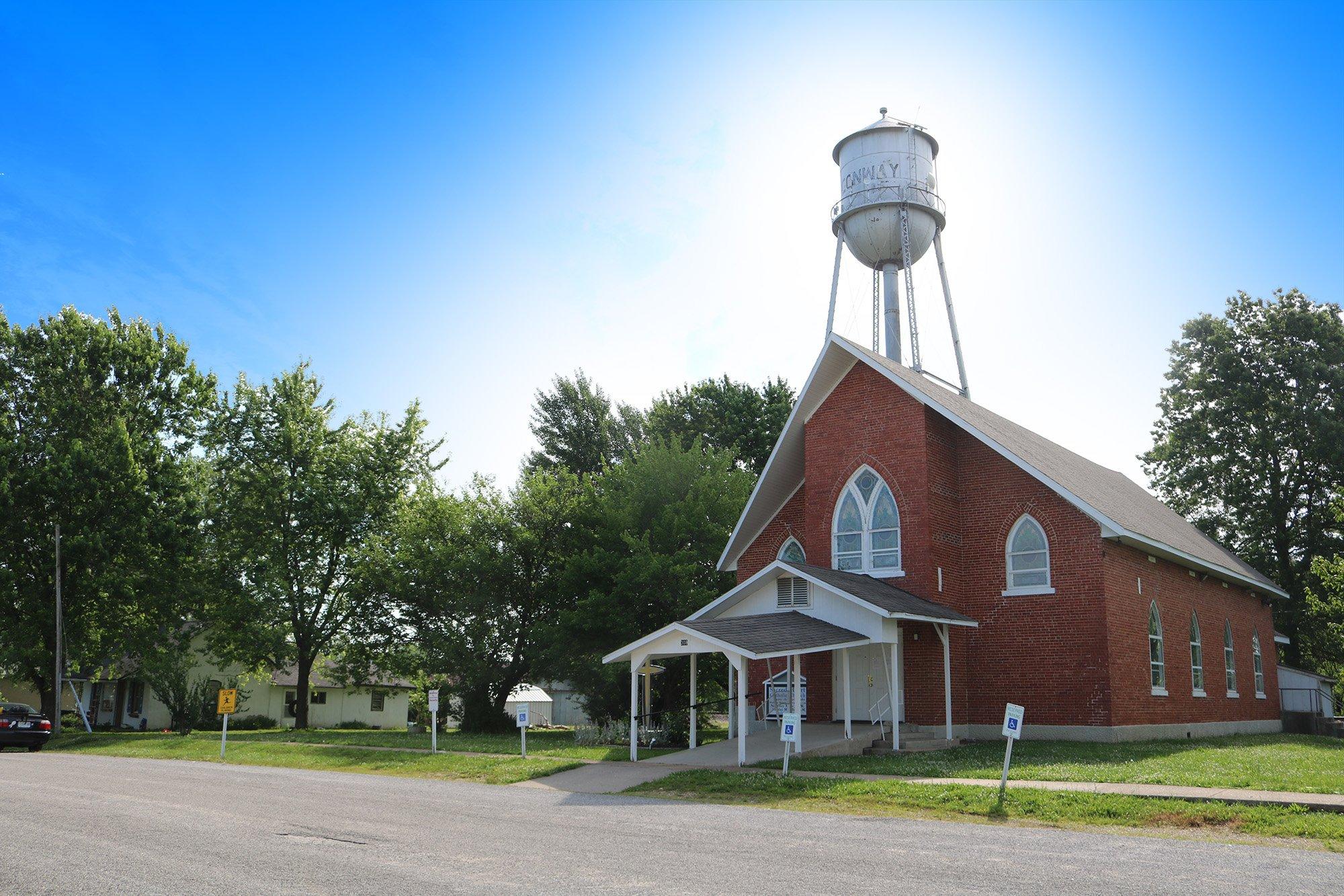 Holy Trinity Catholic Church Marshfield MO exterior